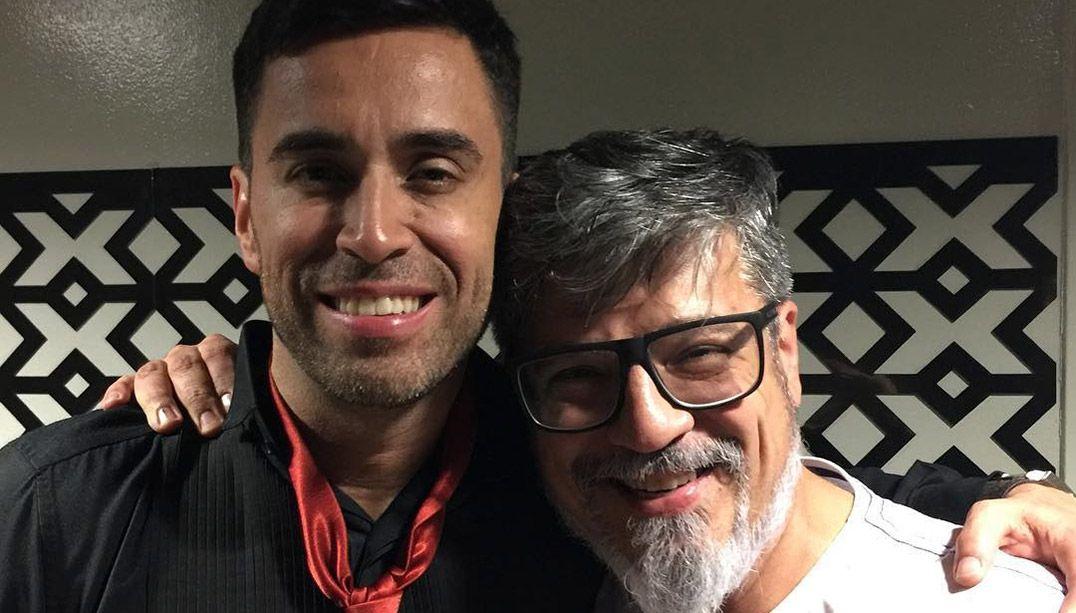 Tumura e o vencedor do X Factor, Cristopher Clark / Divulgação/Instagram