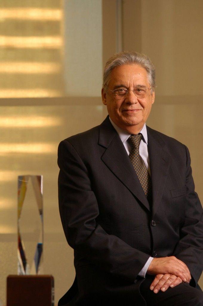 Fernando Henrique Cardoso foi Presidente da República entre 1995 e 2002 / Instituto FHC