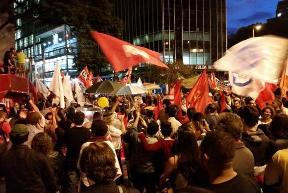 manifestação BH