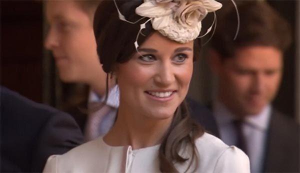 Pippa Middleton fará festança para celebrar a união / Reprodução/Vídeo Reuters