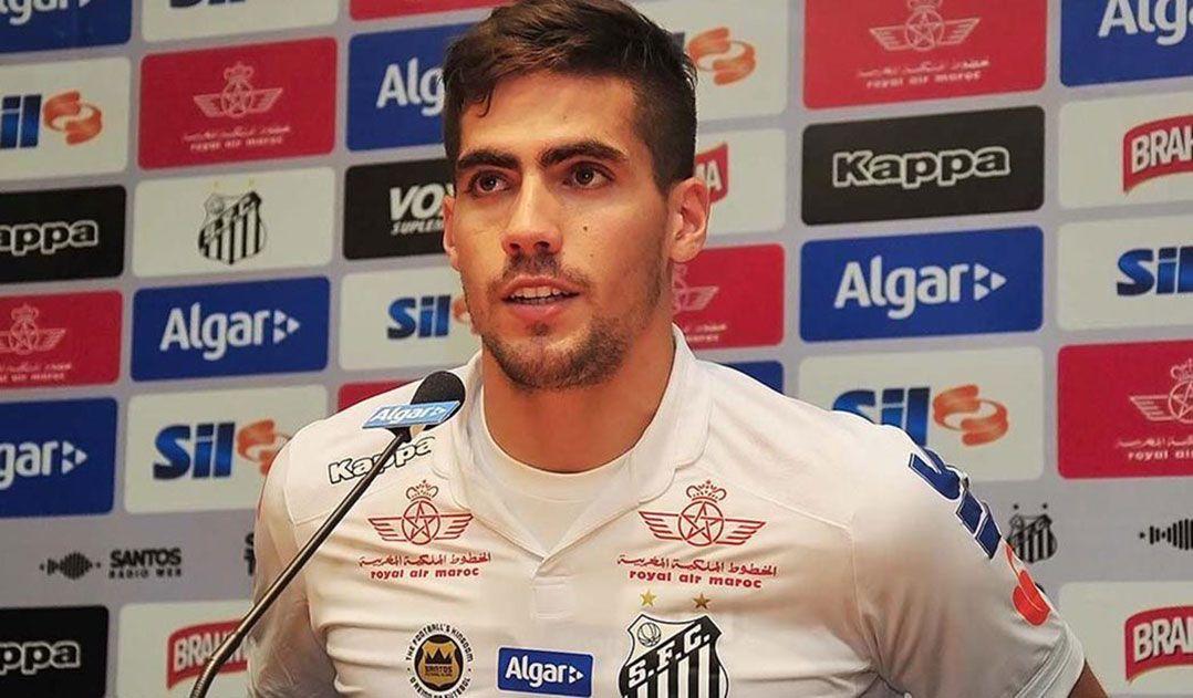 Fabián Noguera só tem nove partidas com a camisa do Santos em quase um ano / Ivan Storti/Santos FC