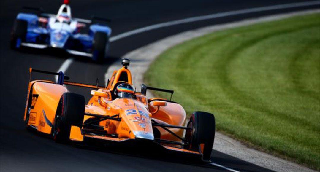 Fernando Alonso ficou em quarto lugar nos treinos para as 500 Milhas / Divulgação/Indycar