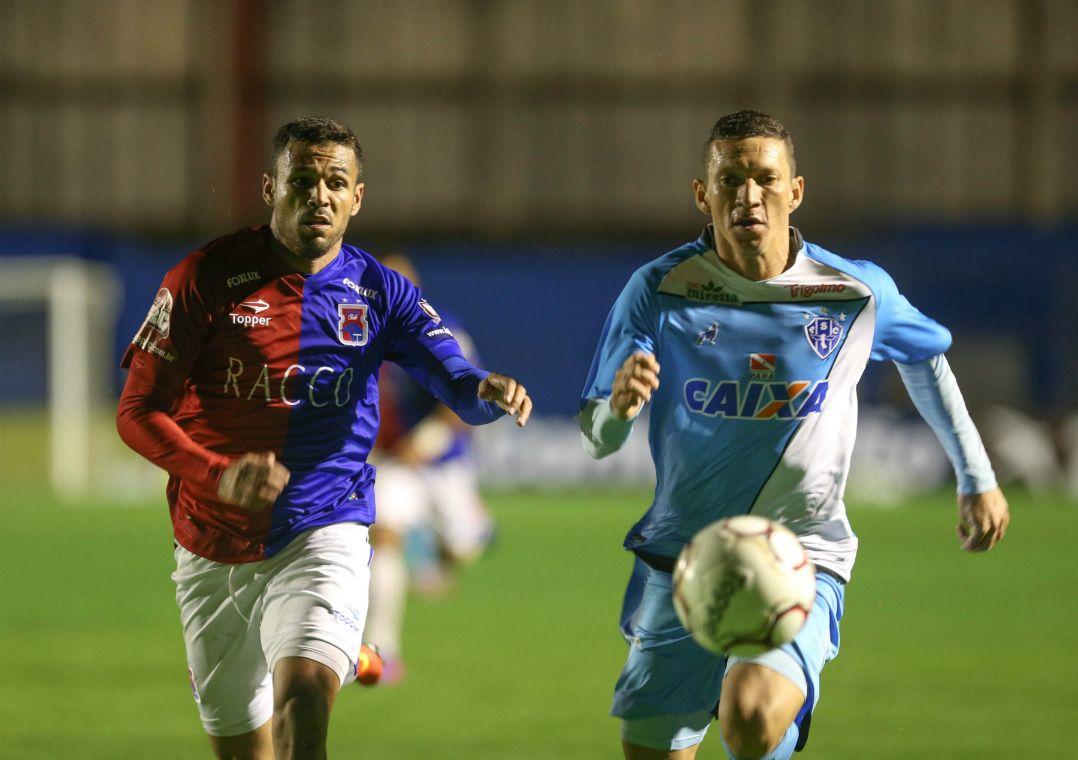 Equipes ficaram no 0 a 0 nesta sexta-feira, no Durival Britto / Geraldo Bubniak/AGB/Estadão Conteúdo