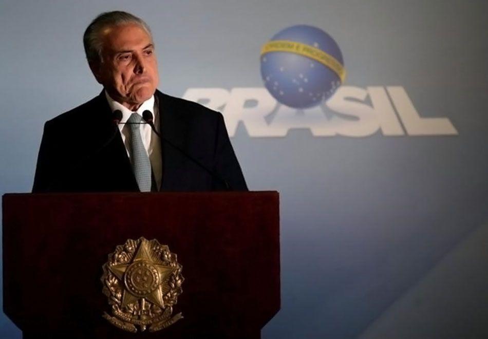 Áudio comprometendo Temer sobre silêncio de Cunha causou reviravolta no cenário político / Ueslei Marcelino/Reuters