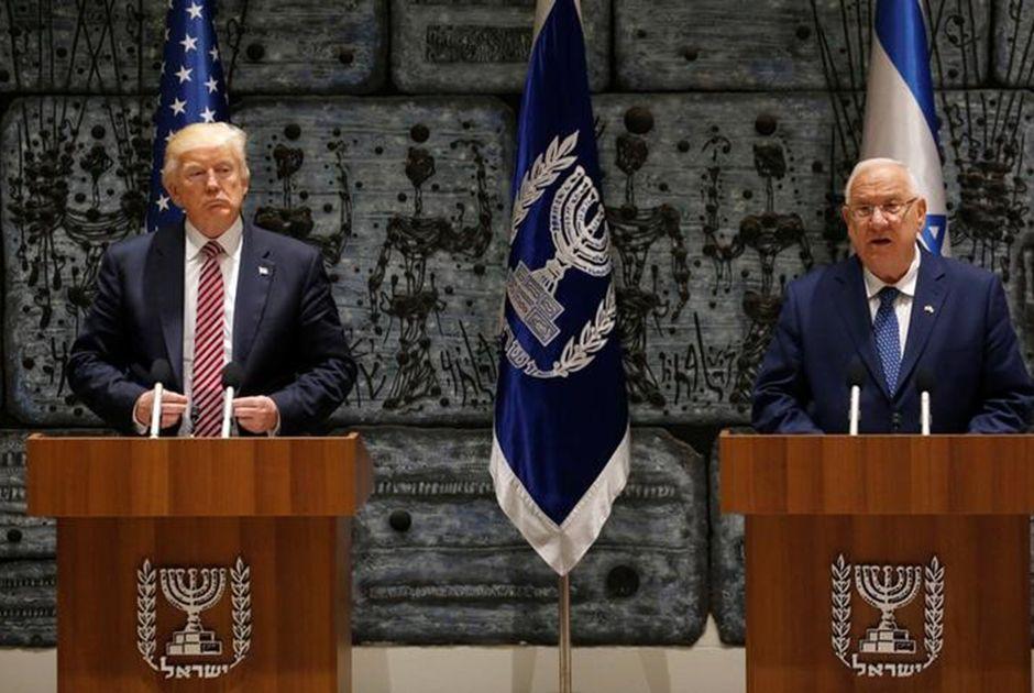 Trump diz ter novos motivos para acreditar em paz no Oriente Médio