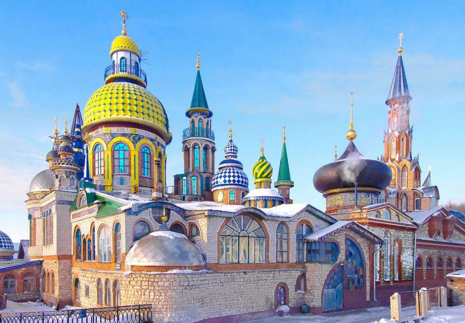 Conheça as igrejas mais curiosas da Rússia