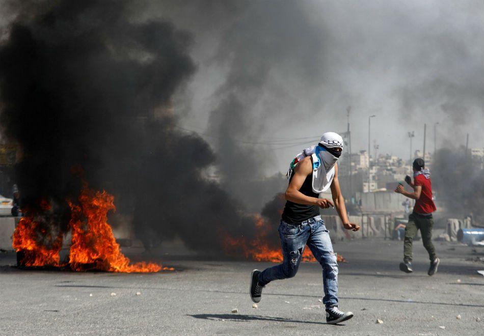 Protestos marcam visita de Trump a Israel e deixam 100 feridos