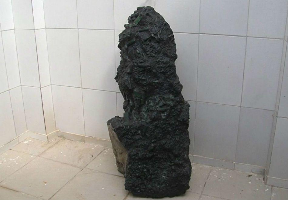 Esmeralda gigante é encontrada na Bahia