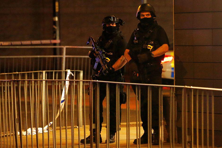 May confirma terrorismo e polícia prende suspeito