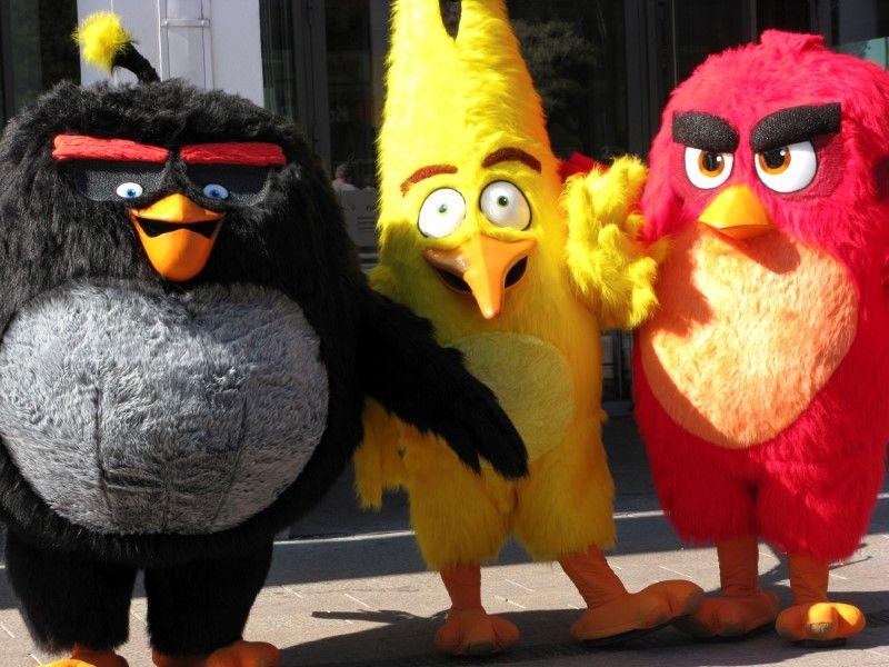 Estúdio pretende lançar sequência do filme Angry Birds em 2019