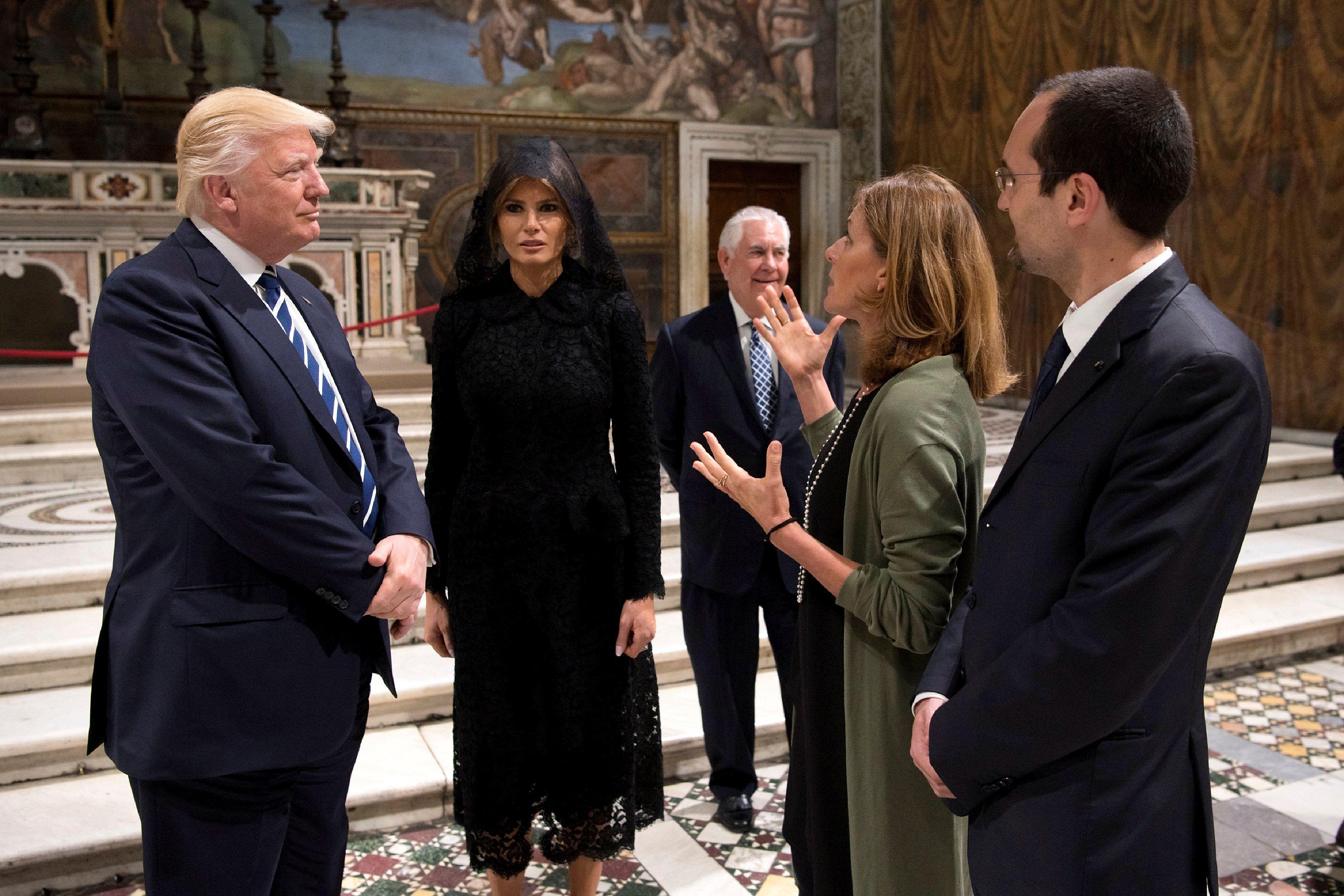Viagem de família Trump à Itália tem coleção de gafes