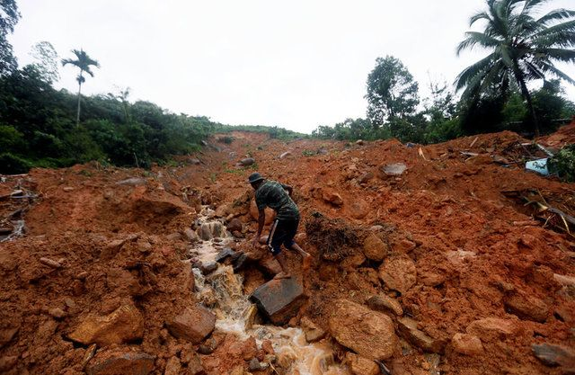 Sri Lanka: deslizamentos deixam 91 mortos