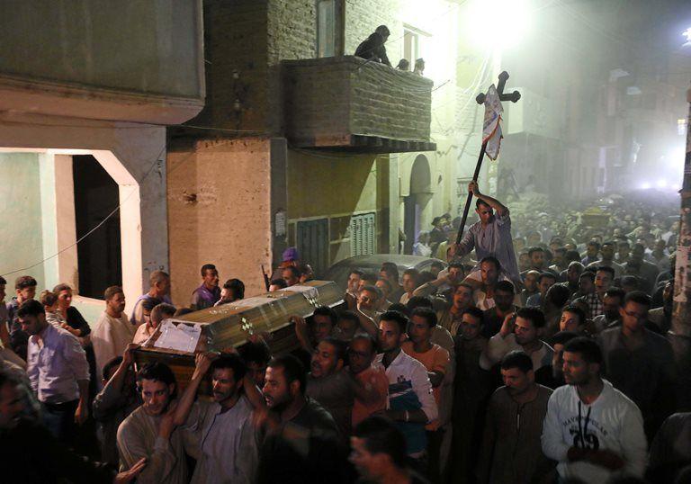 EI assume ataque contra cristãos egípcios