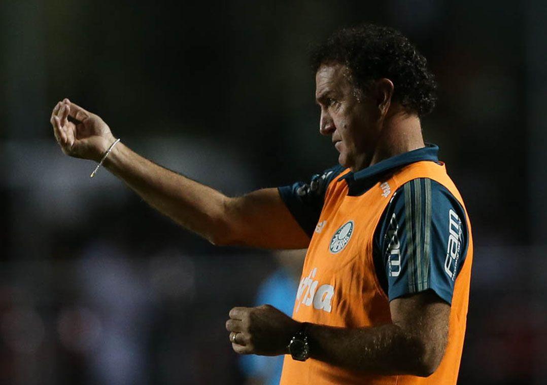 Cuca mira Libertadores como principal competição do ano para o Palmeiras / Cesar Greco/Site Palmeiras