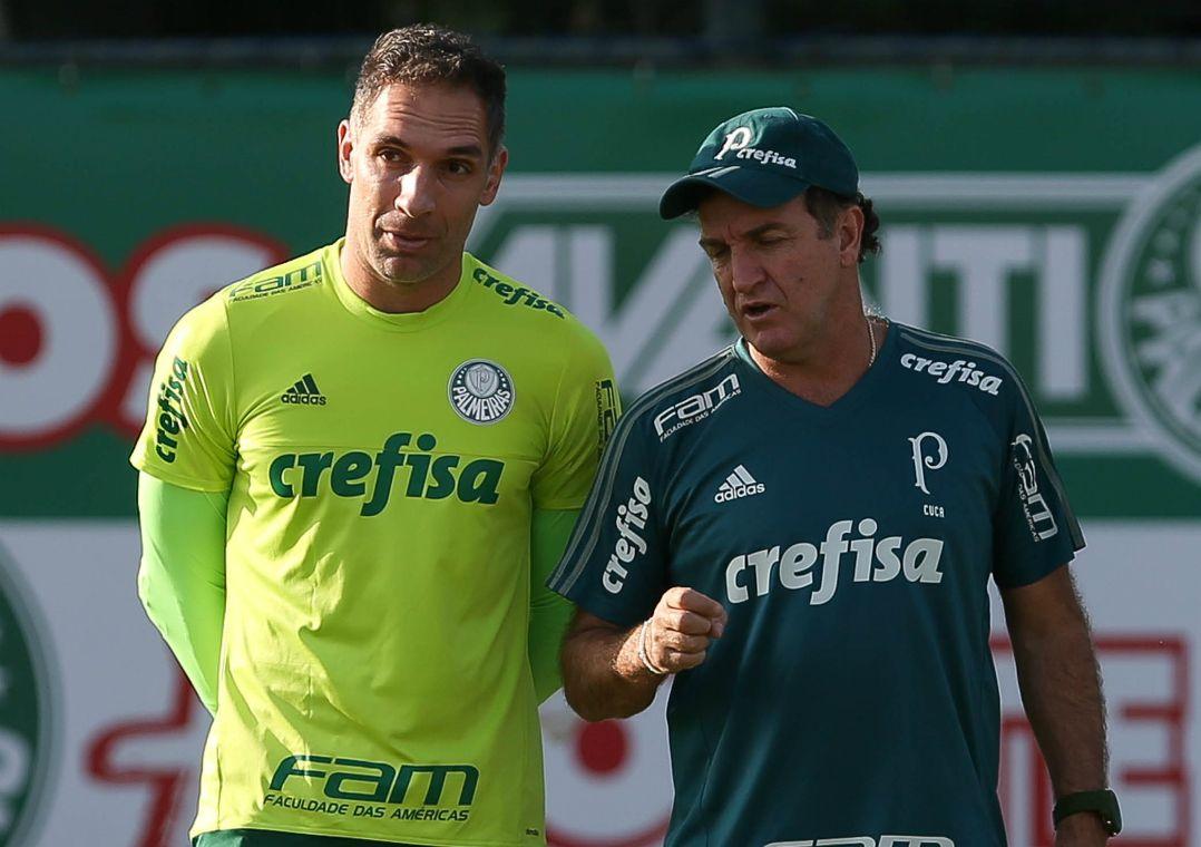 Cuca conversa com Prass e elenco do Palmeiras em reapresentação -  Band.com.br 3942bffc75e31
