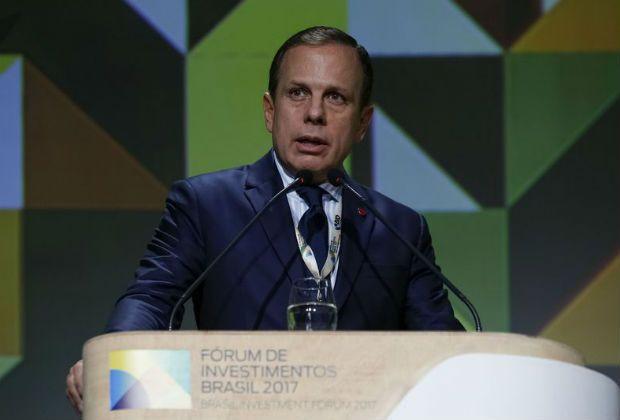 Em fórum com investidores, Doria pede aportes e confiança no Brasil