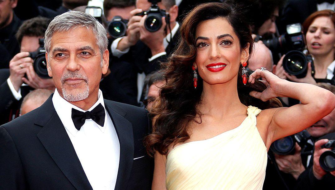 Nascem Ella e Alexander, os gêmeos de George e Amal Clooney