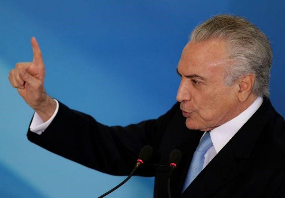Temer / Ueslei Marcelino/Reuters