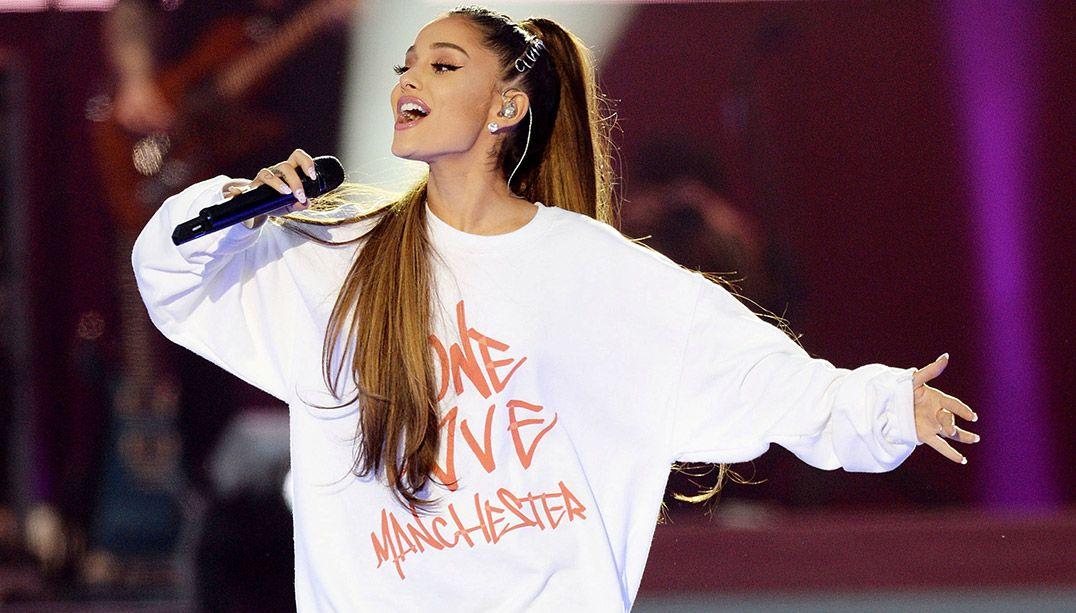 Ariana Grande lança cover para ajudar vítimas de atentado