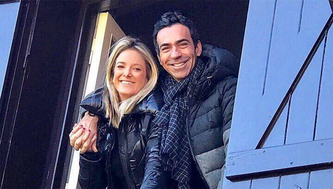 César Tralli e Ticiane Pinheiro ficam noivos