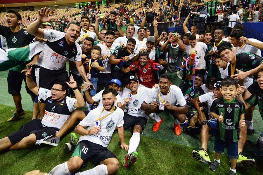 cdea0e23b2f4a Manaus conquista título inédito do estadual. Estão abertos os Jogos ...