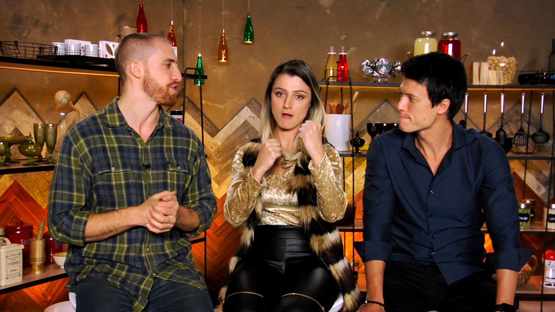 Exclusivo: Taise revela treta com Mirian nos bastidores