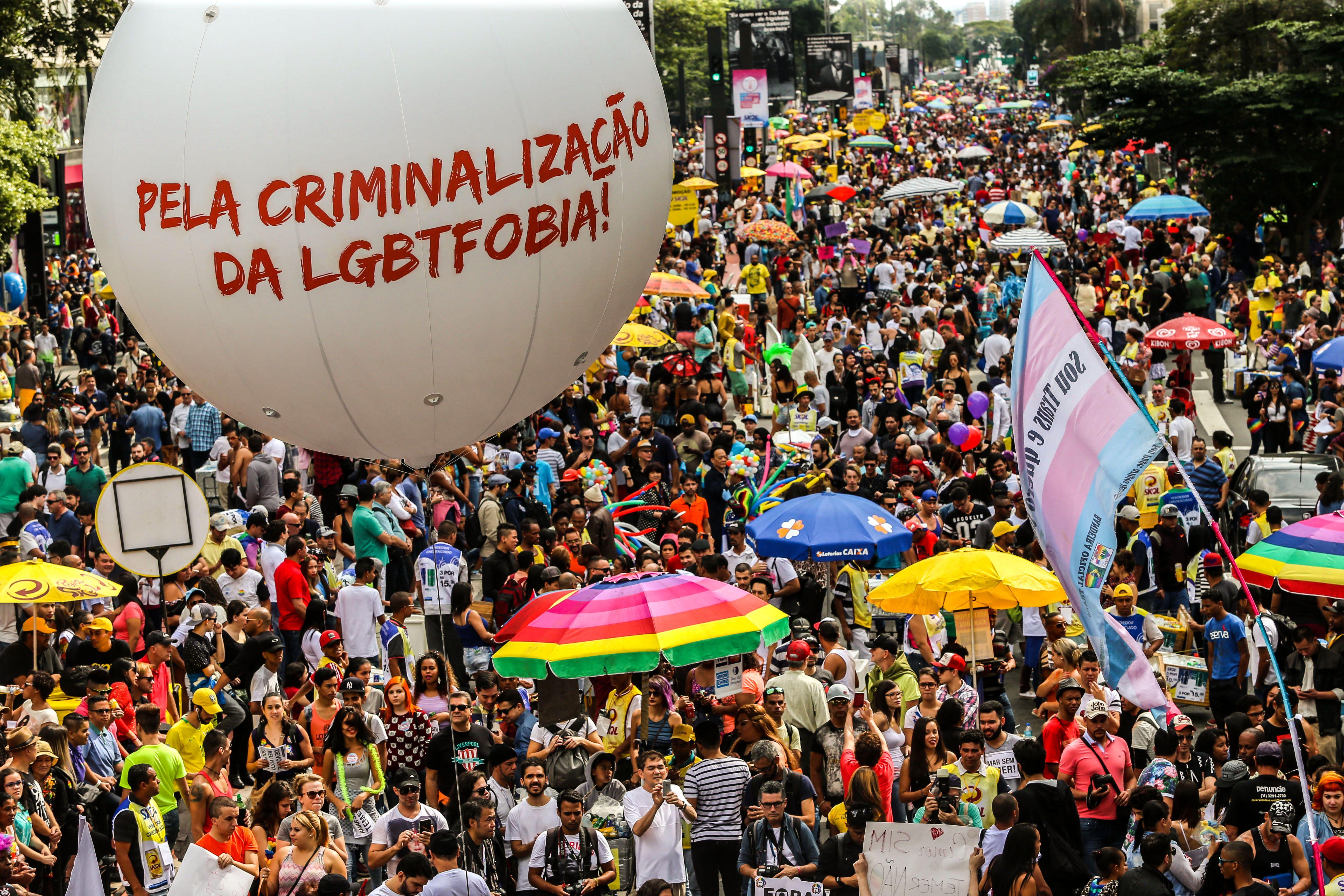 Imagem da Parada LGBT de 2016 / Paulo Pinto/Fotos Públicas