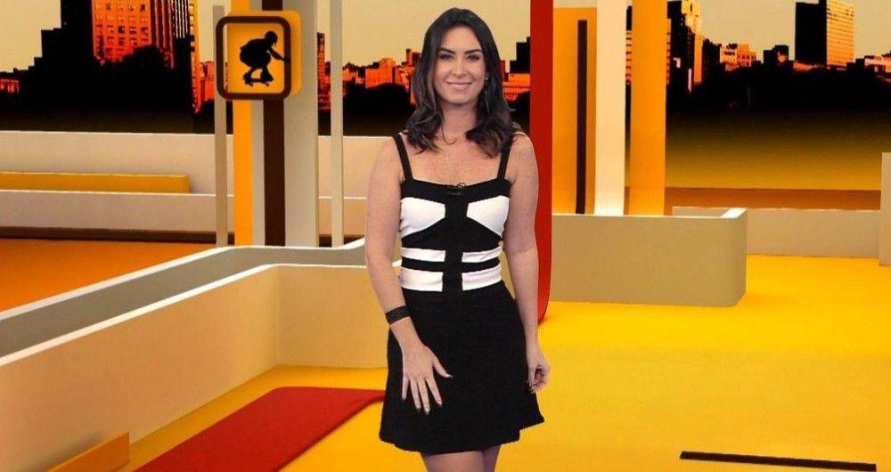 Larissa Erthal apresenta o programa / Divulgação