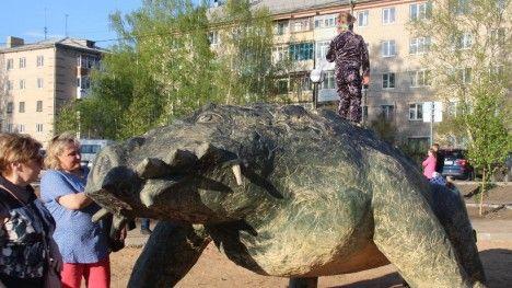 Rússia abre parque temático de animais pré-históricos