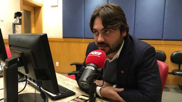 Filipe Sabará foi entrevistado na Rádio Bandeirantes / Reprodução/Band