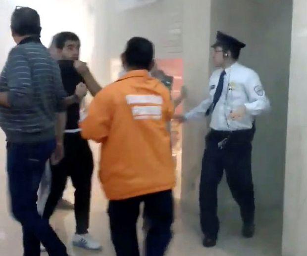 Imagens registram pessoas no shopping momentos após a explosão