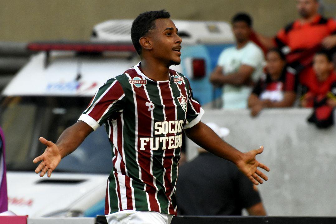 Wendel marcou no clássico contra o Flamengo / Mailson Santana/Fluminense