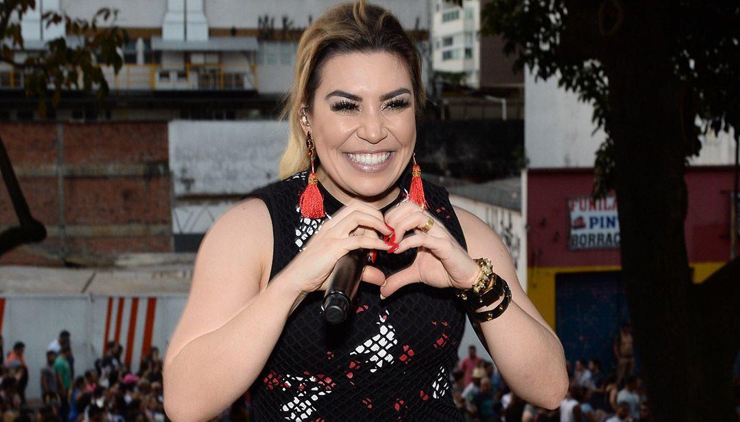 Naiara Azevedo foi uma das atrações da Parada Gay / Francisco Cepeda/AgNews