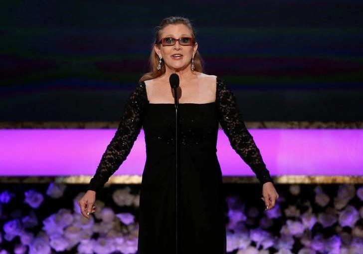 Carrie Fisher recebe indicação póstuma ao Emmy