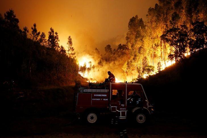 O que causou o incêndio em Portugal do fim de semana?