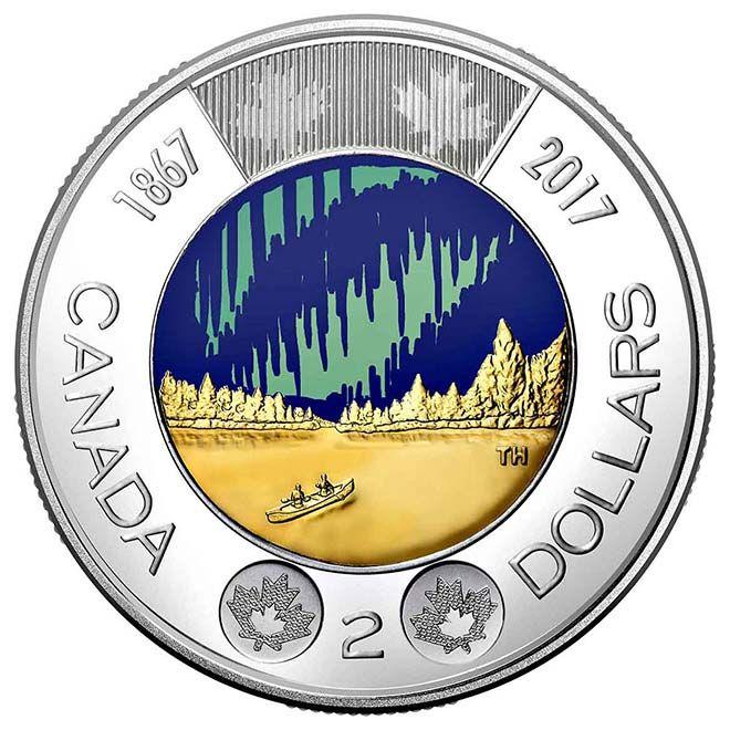 Canadá lança moeda que brilha no escuro