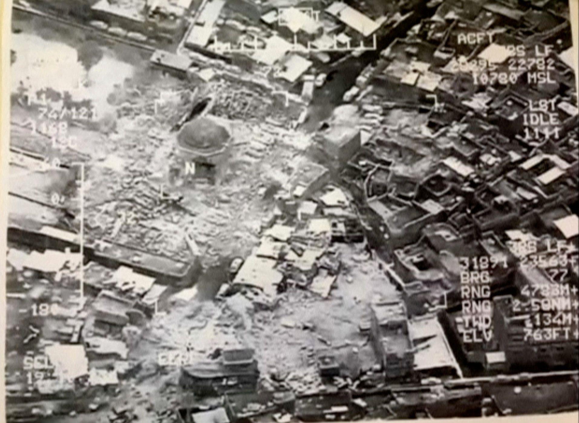 Ataque aéreo destrói importante mesquita de Mossul