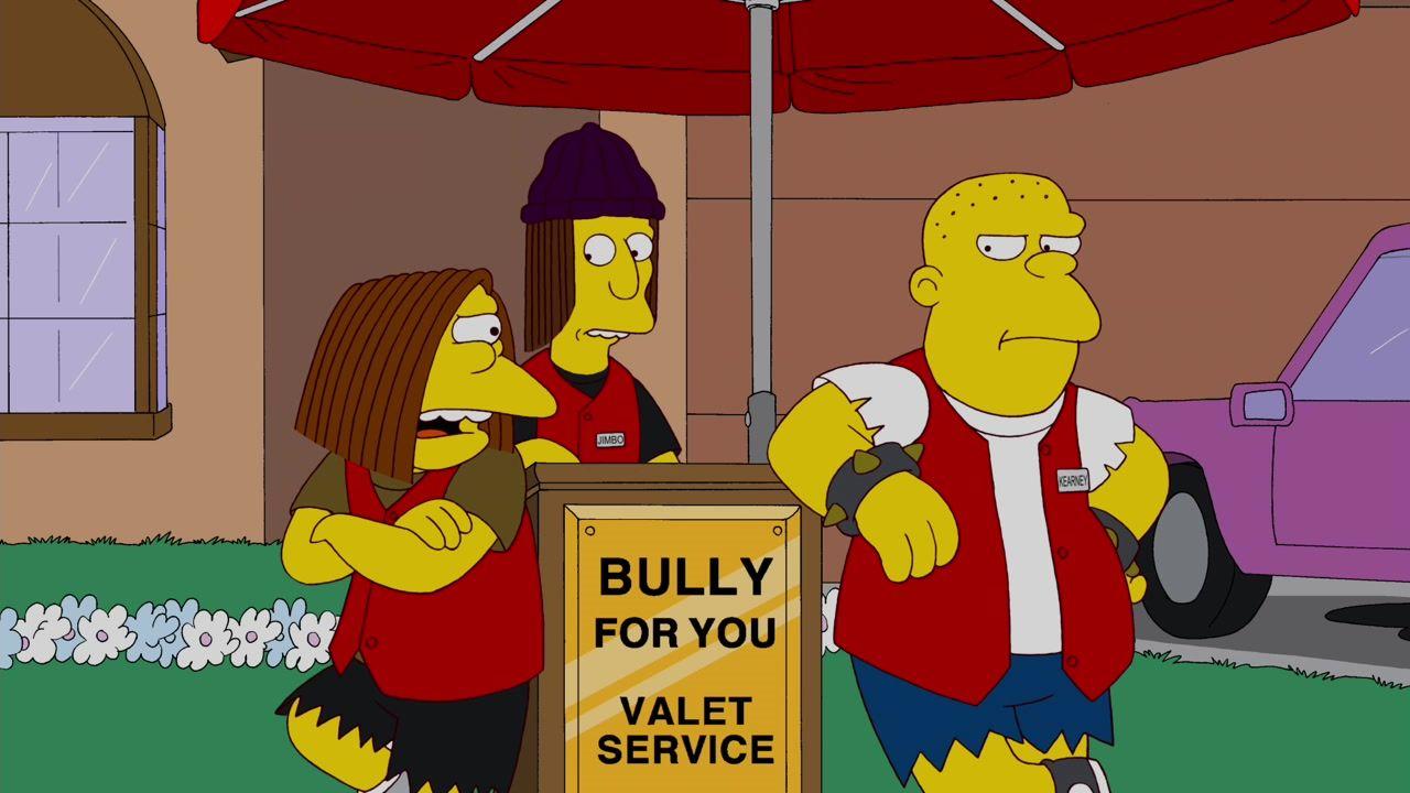 Os valentões de Springfield