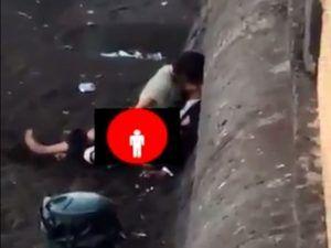 Vídeo de casal fazendo sexo em praça de Nápoles viraliza