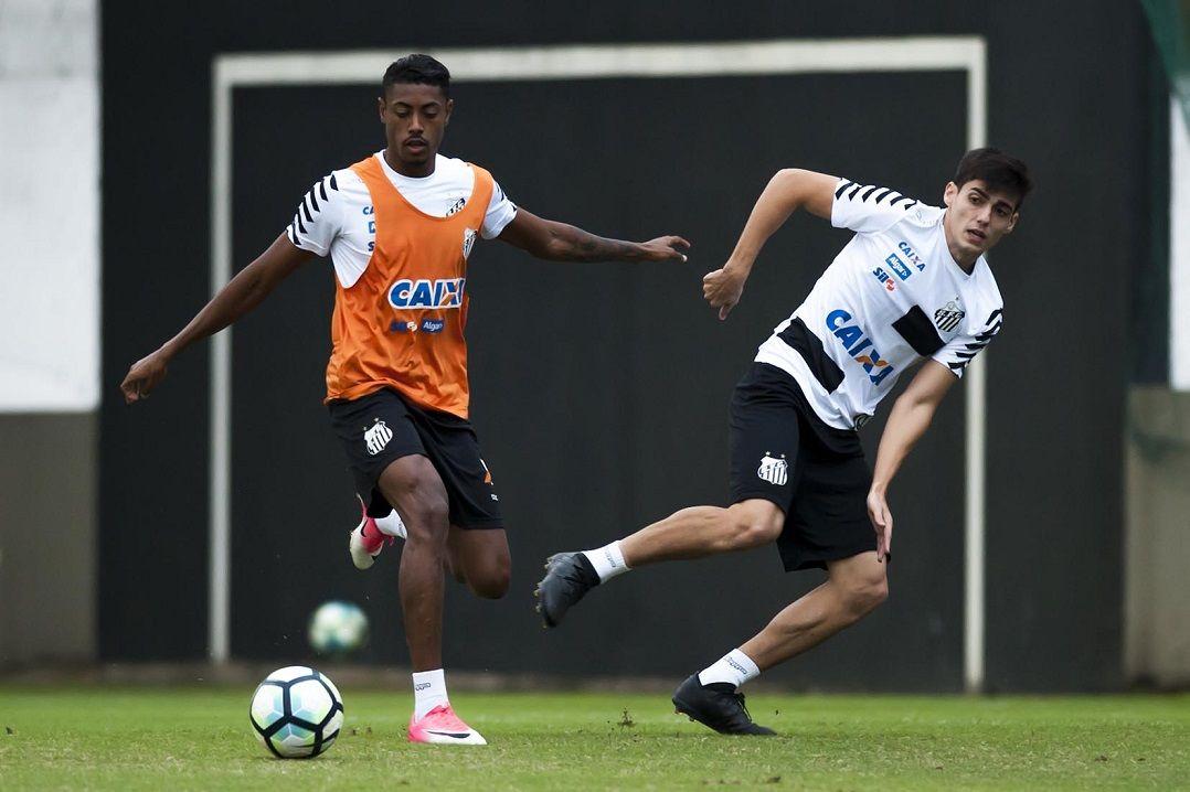 Bruno Henrique e Daniel Guedes voltam ao Santos contra Bahia