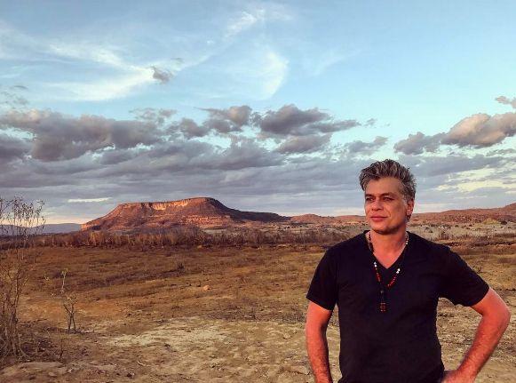 Fabio Assunção rodou documentário no Nordeste / Divulgação/Instagram