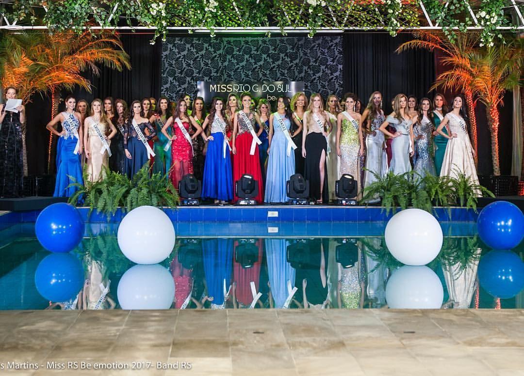 20 participantes concorrem na final do Miss Rio Grande do Sul