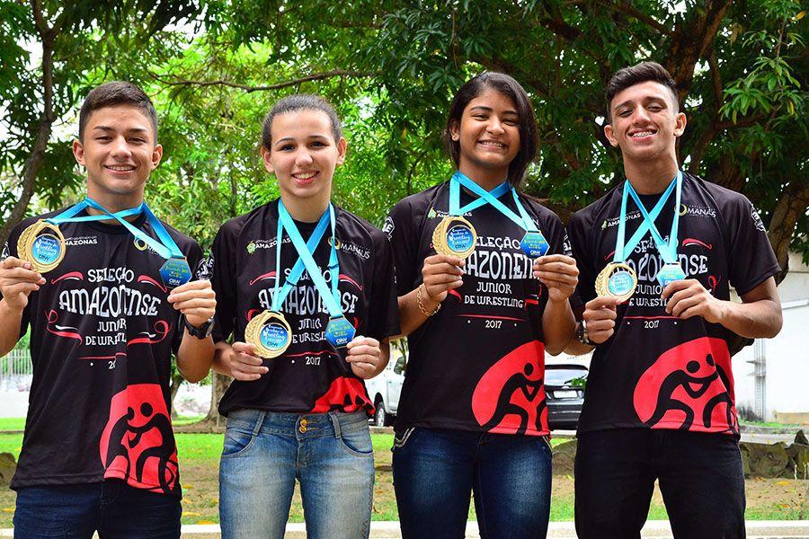 AM vence 12 ouros no Rio de Janeiro e garante vagas no Sul-americano