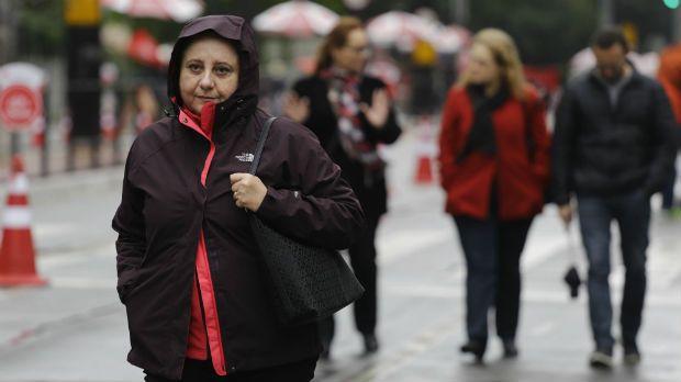 São Paulo tem tarde mais fria do ano neste domingo