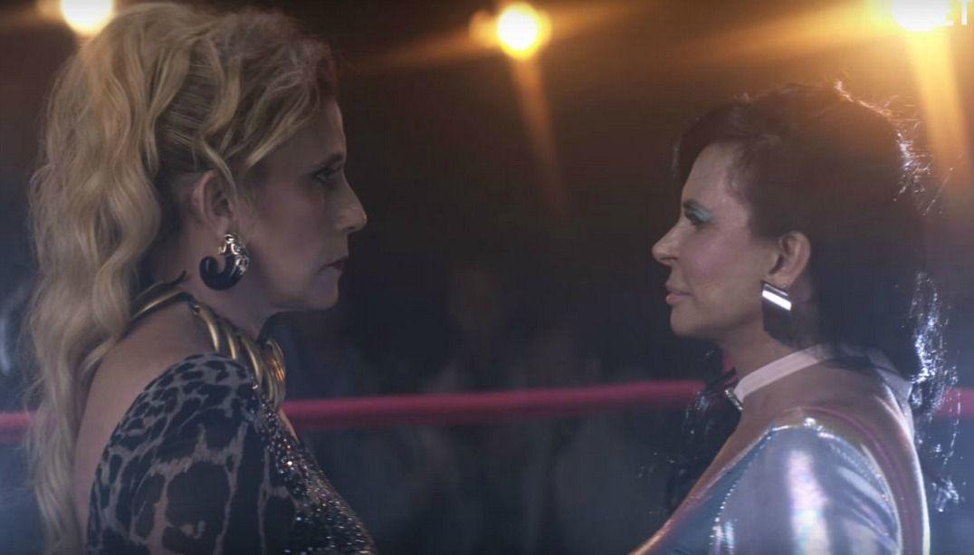 Gretchen e Rita Cadillac se enfrentam em vídeo
