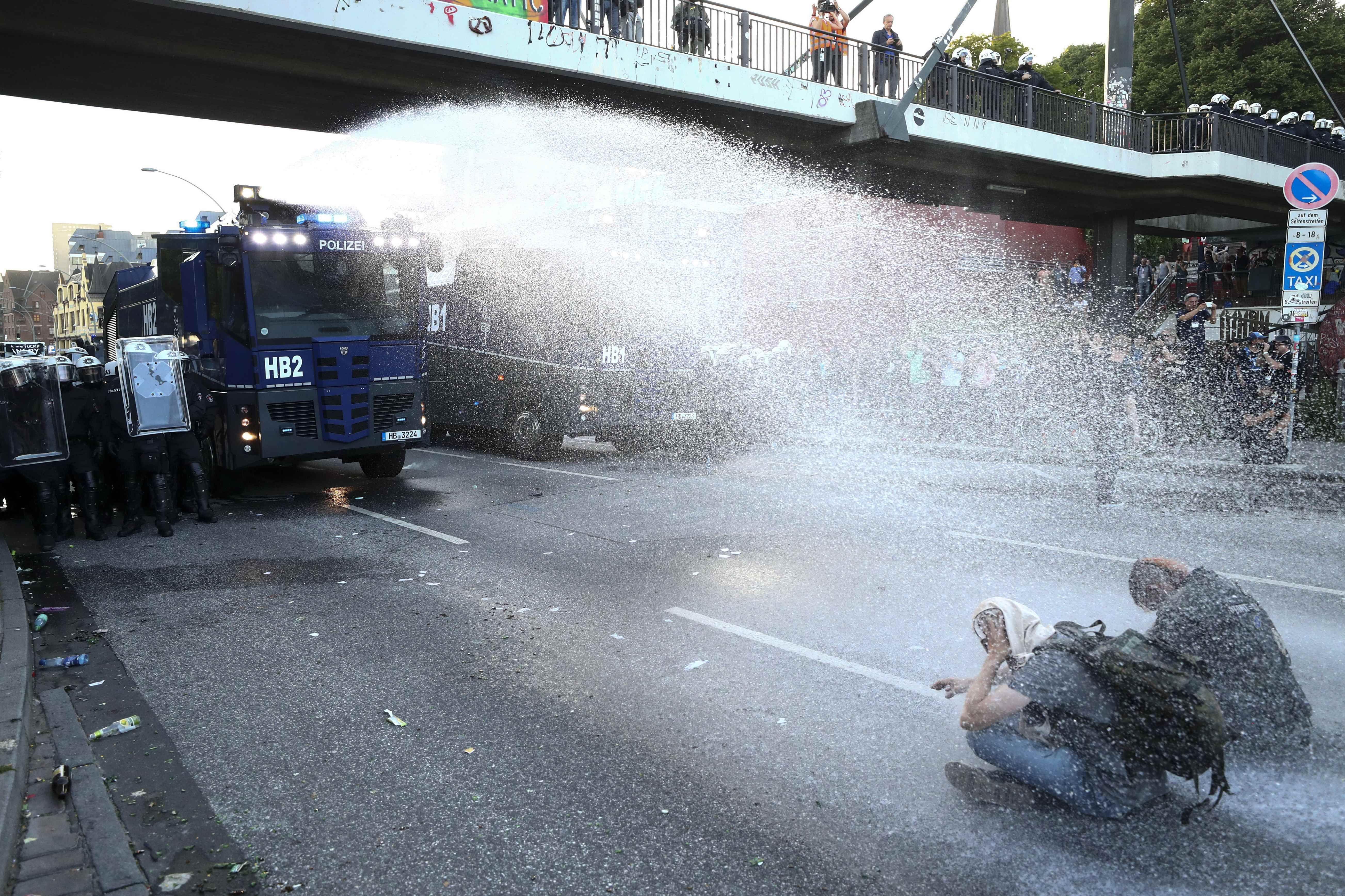 Protestos em Hamburgo marcam véspera da cúpula do G20