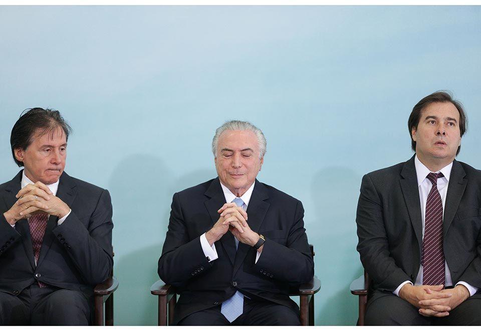 Em três horas, Brasil teve três presidentes da República