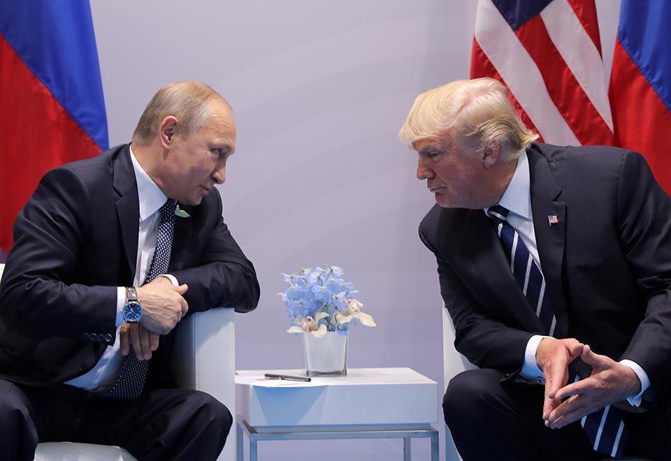 Putin: Trump é muito diferente do que se vê na TV