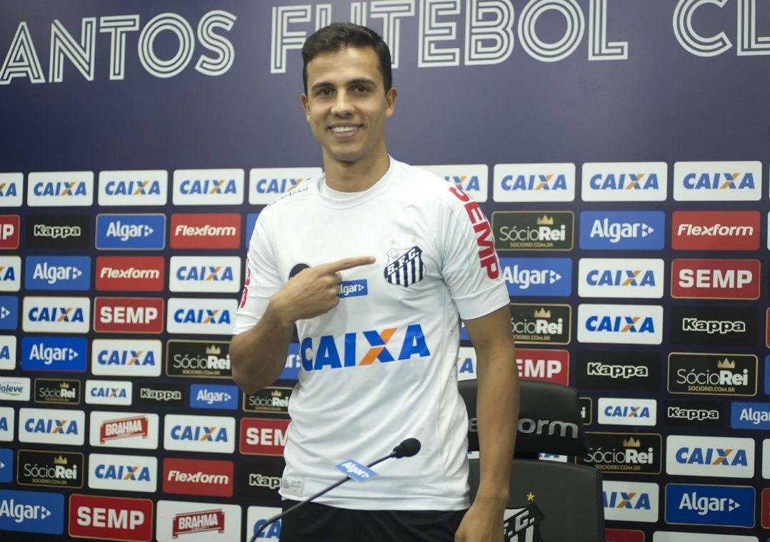 f763649070 Nilmar pode ser um dos inscritos na fase de mata-mata da Libertadores  (Foto  Ivan Storti  Santos FC)