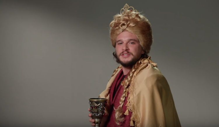 Kit Harrington interpreta Jon Snow em GoT / Reprodução/YouTube